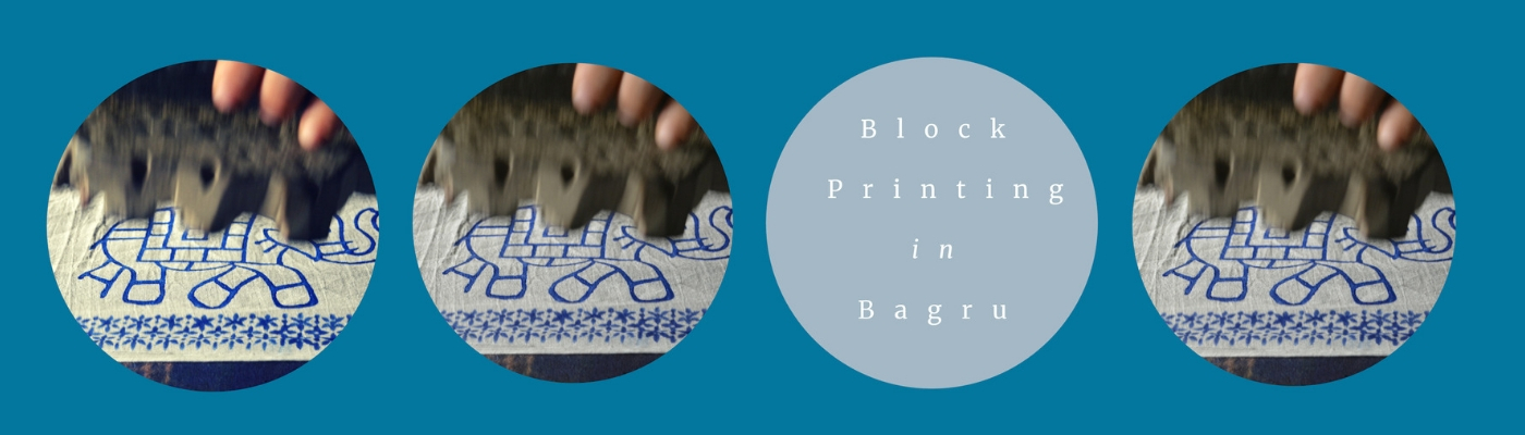 Block Printing in Bagru