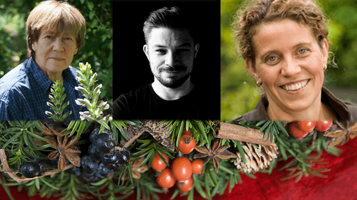 Floral workshops with Fleur Creatif designers  Ursula Wegener; Brigitte Heinrichs, Tino  Hoogterp