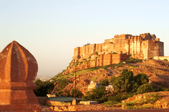 Meherangarh Fort Best Luxury tours to Rajasthan from the UK