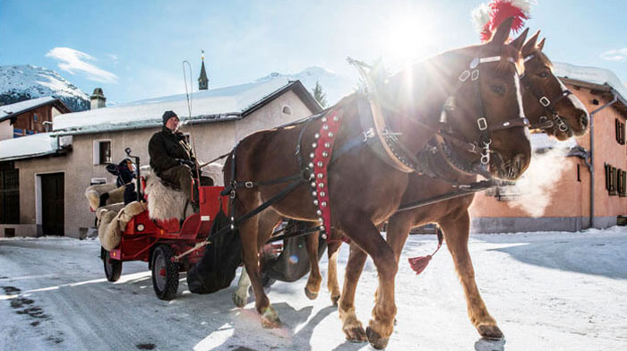 Horse and Carriage Ride Best Christmas Markets in Europe 2021