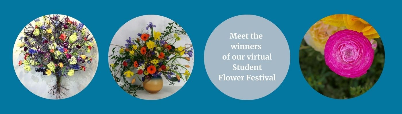 Meet the winners of our virtual student flower festival