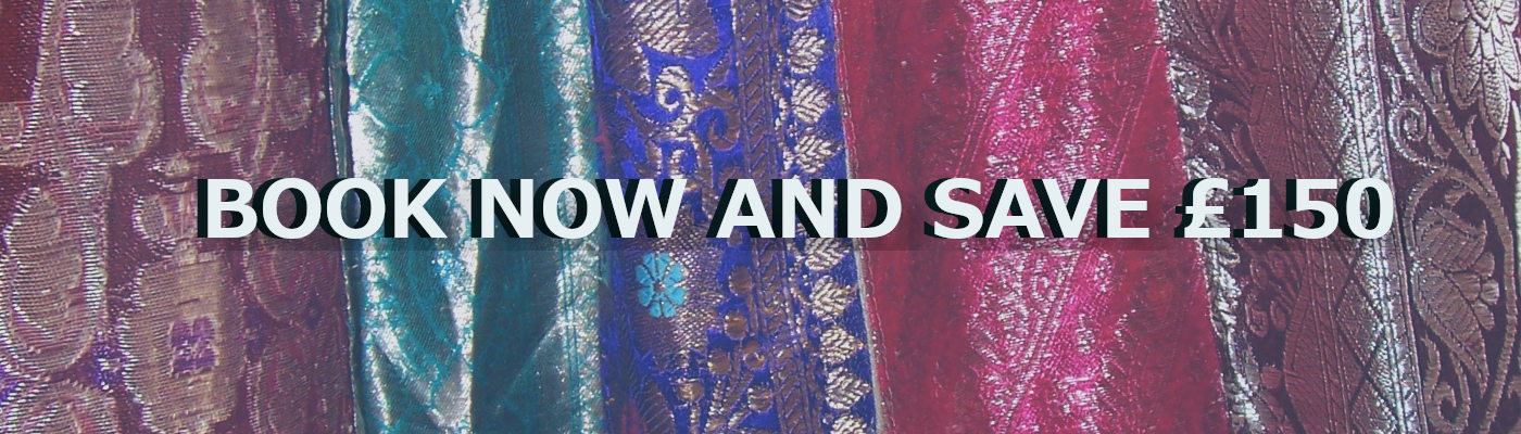 Book Now to save £150 Indian Textile Tour November 2019