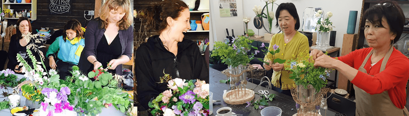 Take your Floral Students to visit Leading Floral Designers