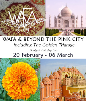 WAFA 2020 & Beyond the Pink City