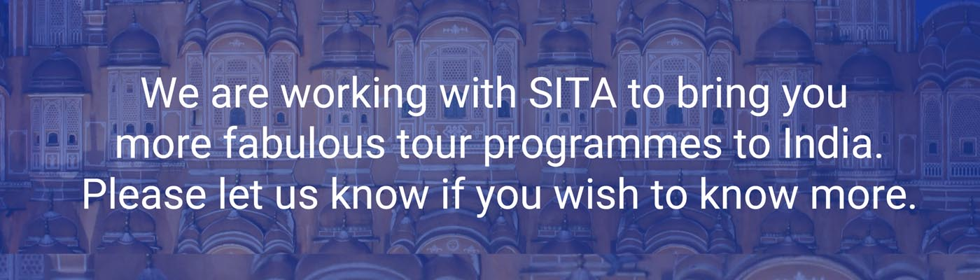 Further tours to India with ECT and SITA
