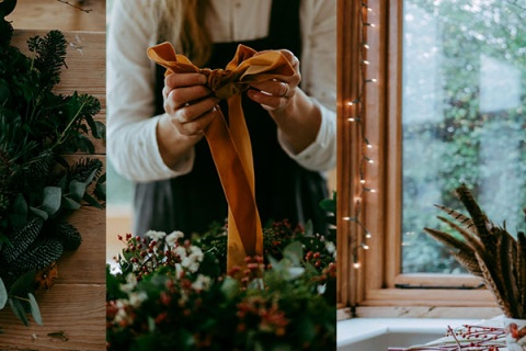 Festive Wreath Making & Bath Christmas Market 2020