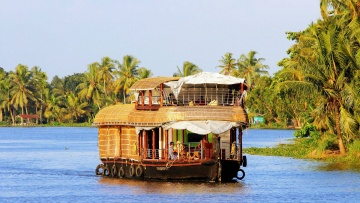 Alleppey Southern India Heritage Tour in South India, Backwaters of Kerala