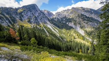 Karwendel Alpine Landscape Nature