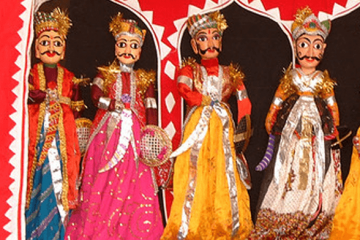 Kthputli puppetry Best luxury tours to Rajasthan from the UK