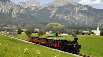 Ziller Valley steam train  Austria