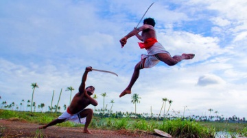 Kalaripayattu martial art dancing