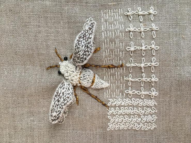 Ansjeline Faber embroidery artist