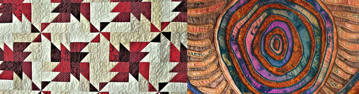 See amazing quilts at Modern Quilt Con February 2022 Tour from UK