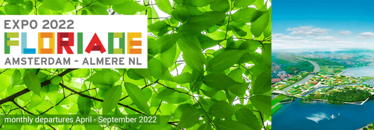 Floriade Expo 2022 best tours from the UK to Almere in the Netherlands