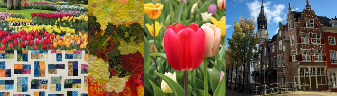 Dutch Quilting & Spring Highlights Tour 2019 with flights included
