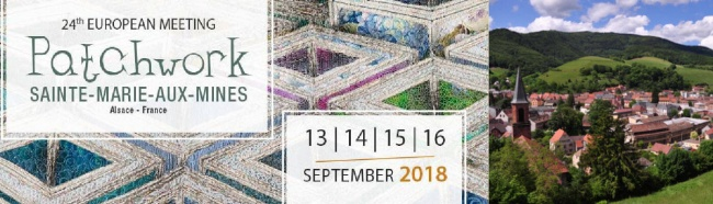 Alsace European Patchwork Meeting 2018
