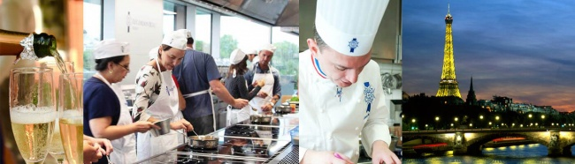 Culinary Adventure to Paris Cordon Bleu School Spring Autumn 2019